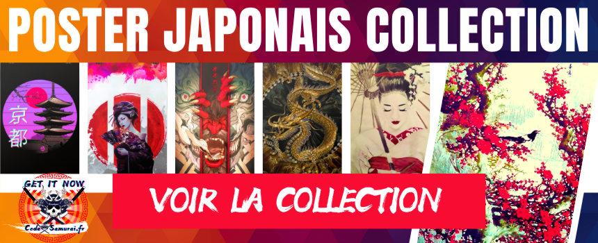 poster mural poster japonais collection voir ici www.code samurai.fr