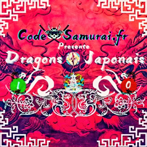 vignette de blog dragons japonais image mise en avant www.code samurai.fr